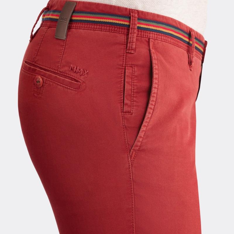 mmx broek chino rood online kopen