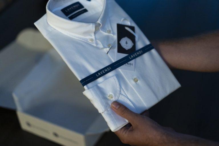 Lavendi overhemden online kopen